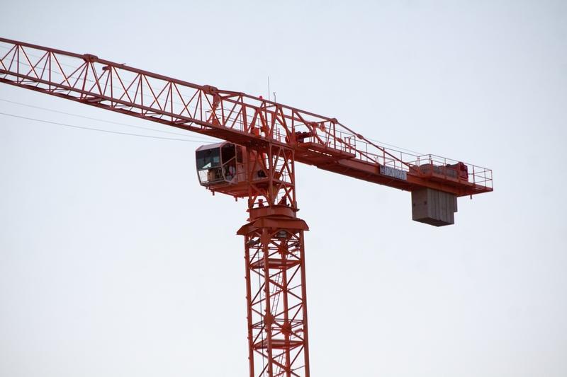 Flat top tower crane TDK-10 215-NTK